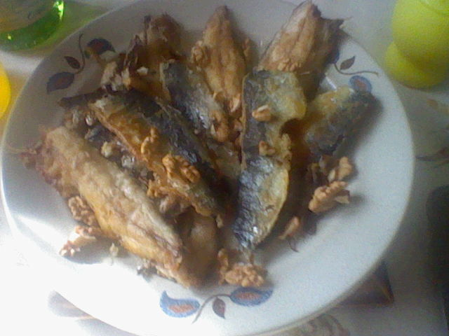 Filets de sardines fraiches au citron et aux noix - Cuisiner des filets de sardines fraiches ...