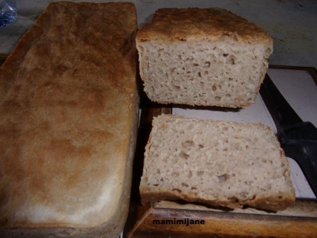 pain de mie la farine de ch taignes sans gluten. Black Bedroom Furniture Sets. Home Design Ideas