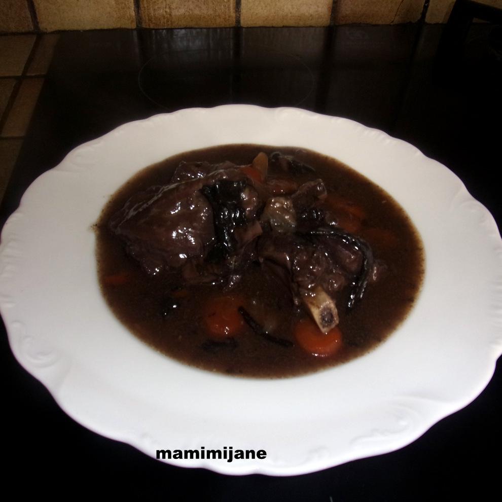 Chevreuil sauce noire - Marinade pour gibier ...